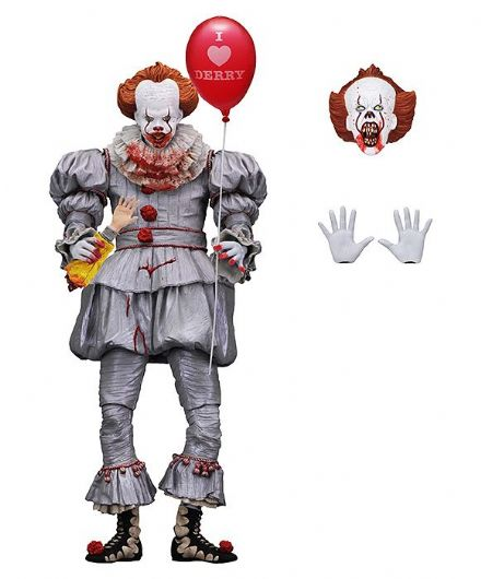 NECA Stephen King's It 2017 Action Figure Ultimate Pennywise (I Heart Derry) 18 cm